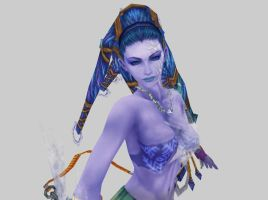 Shiva from FFX Game Disk by Renmiri