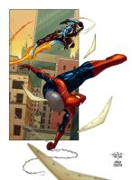 SPIDERMAN: Spinning around by AndreaCelestini