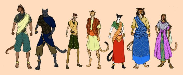 Khajiit clothing by ankalime
