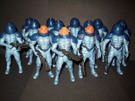 The Sontarans by CyberDrone