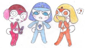 RQ: colorful chibis by JazzHands966