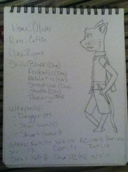 Oliver stats page by AstralMu