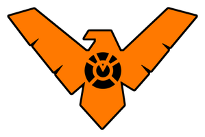 Nightwing Orange Lantern Logo by KalEl7
