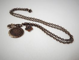 pocket watch necklace by faranway