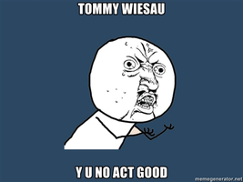 Tommy Wiseau by GhostDemon915