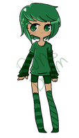 Birthstone Adopt #1 [Emerald] CLOSED by BunsDream