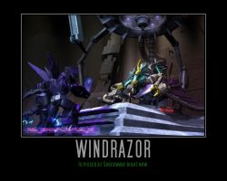 Transformers: Prime Windrazor by Onikage108