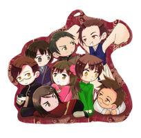 Hetalia Asian Chibis by GydroZMaa