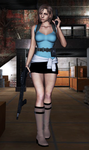 jill valentine - RE3 by AR-0
