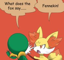 What does the fox say? by Winick-Lim
