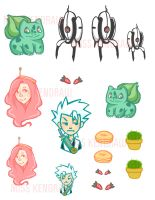 Personal Stickers by Ketchup-Myers