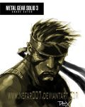 solid snake by nefar007