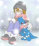 cold night - coloured by Riza23