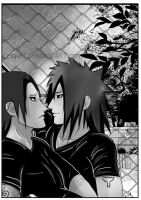 Where do you hurry, Hashirama? by Lesya7