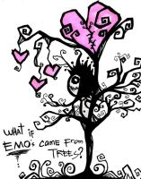 emo's came from trees by JAYisCHINESE