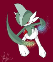 Gallade used ThunderIcepunch by MidniteSilven