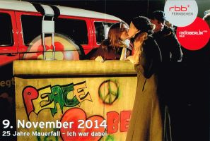 25 Fall of the Berlin Wall by Francoise-Evelyne