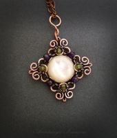 pendant with pearl by nastya-iv83