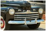 The Bumper and Grille of a Sharp Old Ford by TheMan268