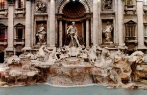 Trevi Fountain, Rome by JulianasGrandma