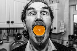 Orange mouth by Profail