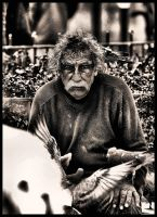 The Bird Man B+W revised by lncognito