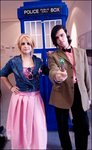 11th Doctor and Rose Tyler by AsakuraYumiChan
