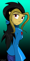 Amber :New Point commission coloring style: by Jaggerjo12