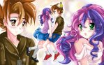 Strangers : MLP Button Mash and Sweetie Belle by kiriche