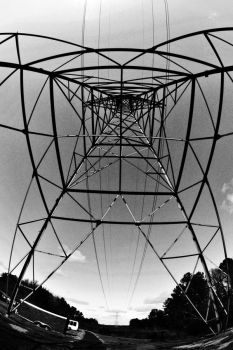 Fisheye Pylon IV by LDFranklin