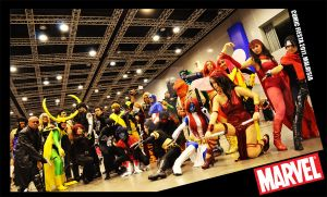 MARVEL COMIC FIESTA 2011 + Video by miyavihoney