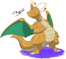 Dragonite by T-Reqs