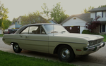 1970 Dodge Dart Swinger in the dawn. by motoryeti