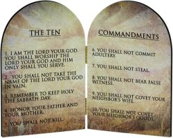 The Ten Commandments by OddGarfield
