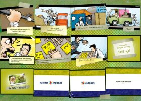 storyboard indosat lageeee.... by tizar
