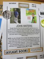 John Waters Flyer by iancinerate