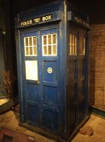 The first tardis by boogeyboy1
