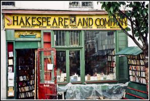Shakespeare and Company by DavidWegley