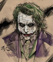 Joker Colored by torsor