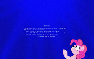 Behold, The glorious BSOD by travischan03