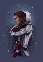 Connor Kenway by SilkSpectreII