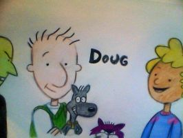 Doug 90's tribute by mistresscarrie