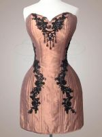 Corset Dress by v-couture-boutique