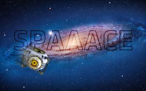SPAAACE - HD Portal Wall by Jaredk8