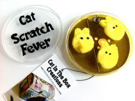 Cat Scratch Yellow