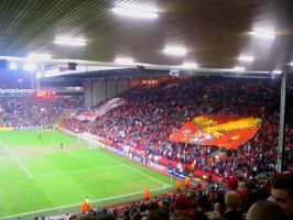 The Kop Banner - Full Glory by kitster29