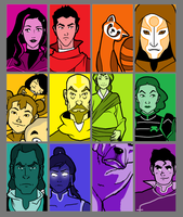 Colors of Korra by Ginevra25-Weasley