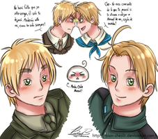England and Argentina: Arthur y Martin by Bian-Chesiir