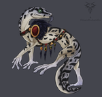 Adopt Collab: Shamanic Gecko -CLOSED- by Chippie18-Adoptables