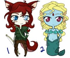 CHEAP AUCTION ADOPTABLES -Closed- by AnimeAdopts